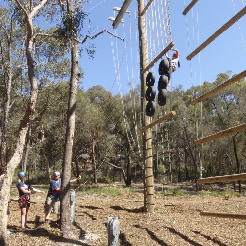 "Adventure Developments ""2 Pole Ropes Course"""