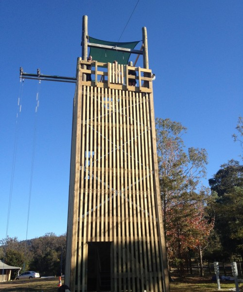Tower with Activity Beam