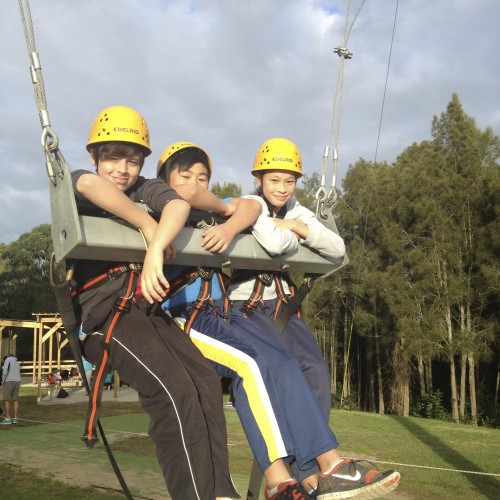 "Adventure Developments ""Giant Swing And Canyon Swing"""