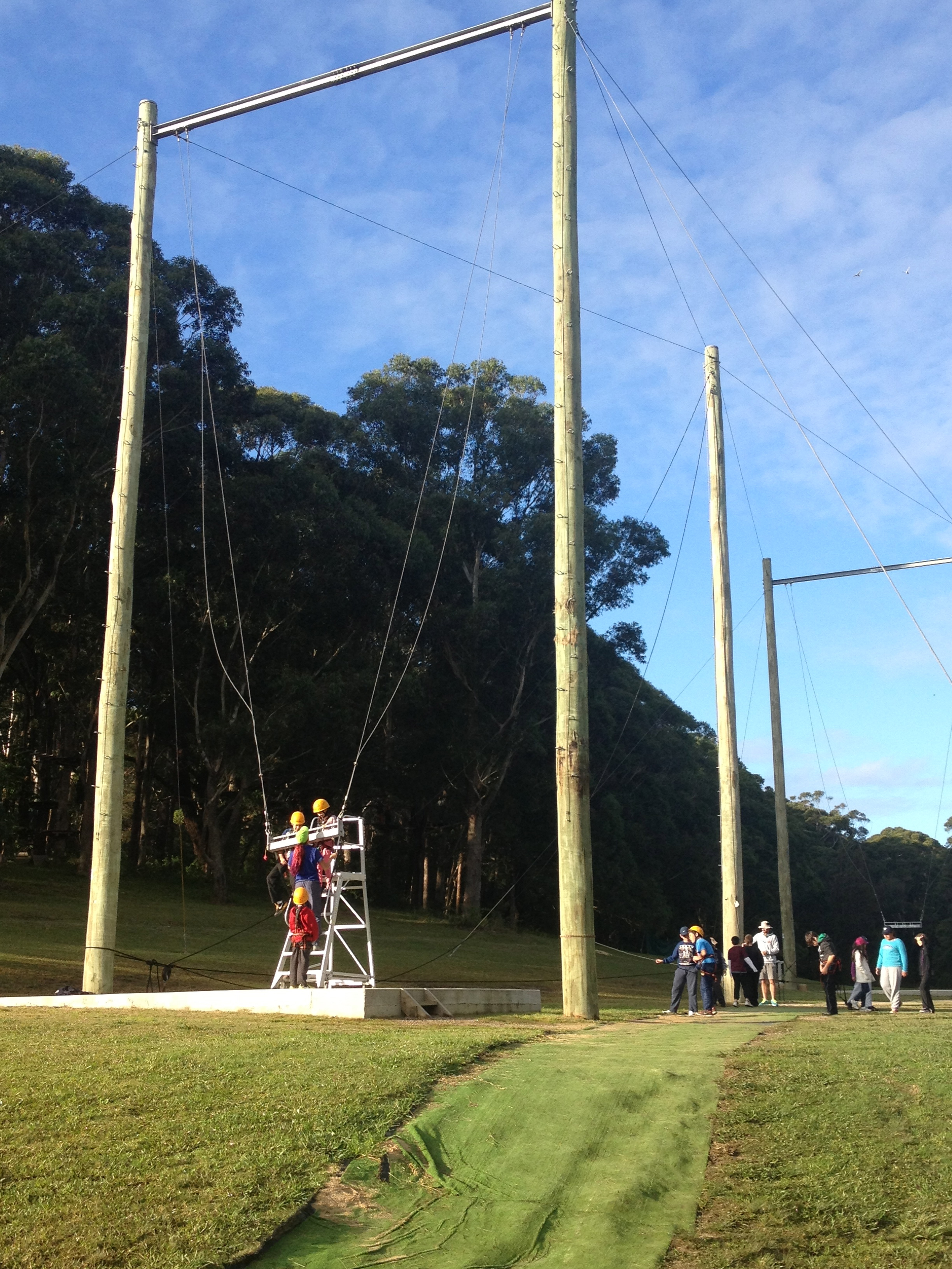 Adventure Developments Quot Giant Swing And Canyon Swing