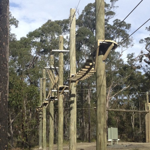 "Adventure Developments ""Custom High Ropes Course"""